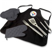 Pittsburgh BBQ Apron Tote Pro by Picnic Time