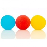 Squishy Stress Relief Balls (3-pack) - Tear-Resistant Stress Ball Non-toxic BPA/Phthalate/Latex-Free (Colors as Shown)