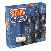 Spooky Mansion I Spy Board Game by University Games