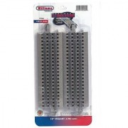 Williams by Bachmann O Gauge E-Z Track 10 Straight (Pack-4) - O Scale