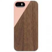 Husa Capac spate Clic Luxury Blossom Walnut Roz APPLE iPhone 5s, iPhone SE NATIVE UNION