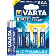АЛКАЛНА БАТЕРИЯ AАA R03 VARTA HIGH ENERGY