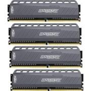 Kit Memorie Crucial Ballistix Tactical LT 4x4GB DDR4 2666MHz CL16 Quad Channel