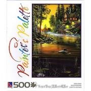 Garden Hideaway By Jim Hansel 500 Piece Puzzle
