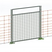 Gate for Electric Fence Netting, Electrifiable, Complete Kit, 105cm