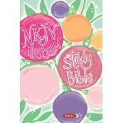 Illustrated Study Bible for Kids-NKJV-Girls by Broadman & Holman Publishers