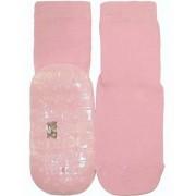 Ewers anti-slip sokken Stoppi uni roze