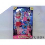 Sofia takarító barbie szett