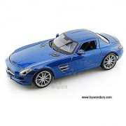 36196bu Maisto Premiere - Mercedes Benz Sls Amg Hard Top (1:18 Blue) 36196 Diecast Car Model Auto Vehicle Die Cast Metal Iron Toy Transport