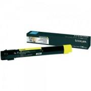 Тонер касета за Laser Toner Lexmark for C950 - 22 000 pages Yellow - C950X2YG