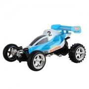 R/C Kart 2009-2 Racing Mini Buggy w/Working Lights - 35MHz (Blue)