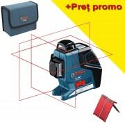 BOSCH GLL 3-80 P Nivela laser cu linii (40 m)