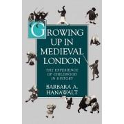Growing Up in Medieval London by Barbara A. Hanawalt