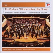 Symphonies,Marches,Serenades etc - The Berliner Philharmoniker play Mozart (7CD)