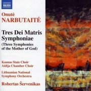 O. Narbutaite - Tres Dei Matris Symphonia (0747313229574) (1 CD)