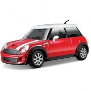 Bburago 1:24 Scale Mini Cooper S Diecast Vehicle (Colors May Vary)