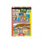 Educa Simpsons puzzle, 2x100 darabos