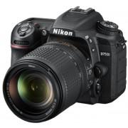 Aparat Foto D-SLR Nikon D7500, 20.9 MP + Obiectiv 18–140mm VR, Filmare 4K, (Negru)