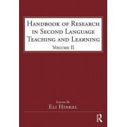 Handbook of Research in Second Language Teaching and Learning: Volume 2 by Eli Hinkel