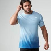 Dip Dye T-shirt - XXL - Turquoise