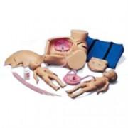 simulatore del parto - manipolazioni uterine e tecniche pre inter post