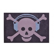 Lorena Canals WSKH-2 Wool Big Skull Headphones Blue/Grigio