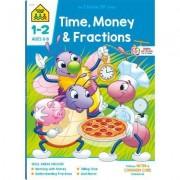 Time, Money & Fractions Grades 1-2 by Ph.D. Barbara Bando Irvin