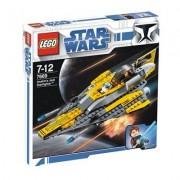 LEGO Star Wars 7669 Anakin's Jedi fighter - Caza Jedi de Anakin