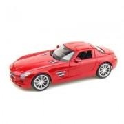 Modèle Réduit - Mercedes Benz Sls Gullwing - Première Edition - Echelle 1/18 : Rouge
