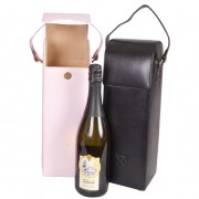 Wine Bags - Hard Leather Case