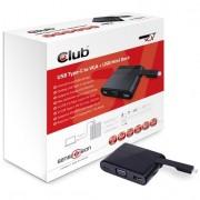 USB Type-C - VGA + USB Mini Docking Station