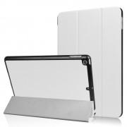 Witte stijlvolle hoes voor iPad (2017) Tri-Fold Smartcase