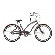 Electra Wild Flower 3i Bicicletta da città Donne grigio Taglia unica Bici cruiser