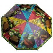 Želvy Ninja - Větruodolný deštník s manuálním otevíráním
