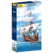Heller Christopher Columbus' Santa Maria Boat Model Building Kit