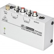 Behringer PP400 preamplificatore phono line giradischi
