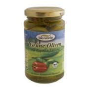 Aperitiv bio masline verzi cu paprika