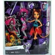 Monster High Fierce Rock Catty Noir and Toraleiers DJB91