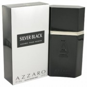 Silver Black For Men By Azzaro Eau De Toilette Spray 3.4 Oz