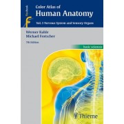 Color Atlas of Human Anatomy, Vol. 3 by Werner Kahle