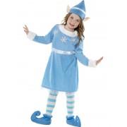 Costum Craciun Copii Elf Spiridusa