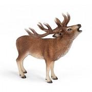 Schleich Red Deer Toy Figure
