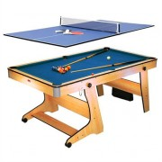 Riley FP-6TT 2-in-1 Game Table - Pool Table Tennis Ping Pong