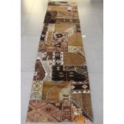 Passadeira Patchwork Reloaded Marrom Turco 3,11 x 0,84m