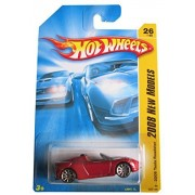 """Hot Wheels Red Tesla Roadster """"2008 New Models """" #26 (2008) 1:64 Scale Collectible Die Cast Car by Mattel"""