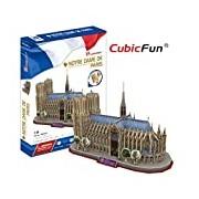 CubicFun Notre Dame Paris France 3D Puzzle