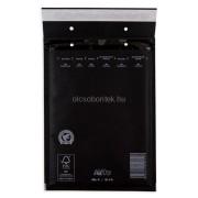 Színes Légpárnás (buborékos) Boríték, Tasak D/14 FEKETE belméret: 180x265 mm, külméret: 200x275 mm