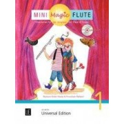 UNIVERSAL EDITION Mini Magic Flute (Band 1 of 4) - BOOK+CD