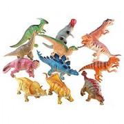 Himine Soft plastic Sound Dinosaur Toys 12 Kinds BB Dinosaurs
