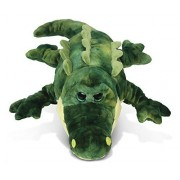 Puzzled Gator Super Soft Stuffed Plush Cuddly Animal Toy - Reptiles Collection - 18 INCH - Unique huggable loveable New friend Gift - Item #5018 by Puzzled